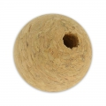 Round beads in cork 30mm x5