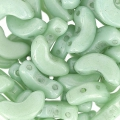Arcos® by Puca® 5x10 mm Opaque Light Green Ceramic Look x10g