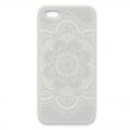 Phone Case Fits iPhone 5/5S Mandalas white x1