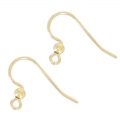 14K Gold filled Earwires x2