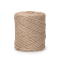 Braided jute cord 3.5mm Natural x 89 m