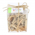 Assortment of small sticks of driftwood 2-9 cm Natural x150g