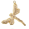 Pave Pendant Swarovski 67523 30mm Crystal Golden Shadow gold tone