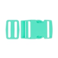 Quick release buckles with buckle 40 mm Green Turquoise x1