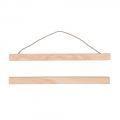 Wooden suspension for poster 30 cm
