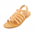 Leather spartan sandals to customize size 36 Natural x1