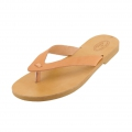 Leather flip flop to customize size 38 Natural x1