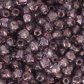 True 2mm Fire Polished faceted round beads Lumi Amethyst x50