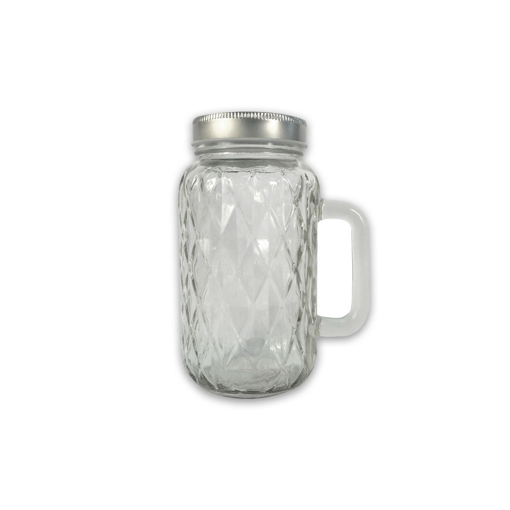Cm Glass Candle Jars With Handle