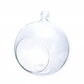 Support decorative glass - Open Ball 12 cm