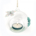 Support decorative glass - Open Ball 8 cm
