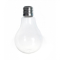 Support decorative glass - Vase Bulb 12 cm