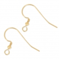 14K Gold filled 17mm Earwires x2