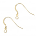 14K Gold filled 19mm Earwires x2
