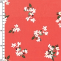Fabric Bed of Roses Michael Miller - Lily Coral x10cm