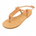 Pair of leather sandals to customize Size 38 Natural x1
