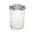 Mason Jar Ball 8 oz diamond  x1
