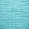 Fabric double cotton gauze Mint x10cm