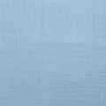 Fabric double cotton gauze Sky x10cm