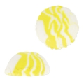 Cabochon Fimo Ice cream 17.5 mm Yellow x1