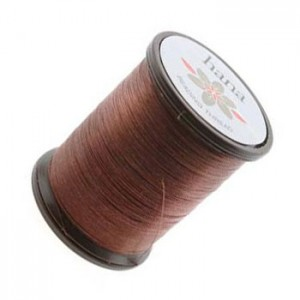 Hana Beading Thread 0.20mm Acon Brown x100 m