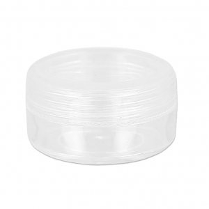 storage round box 39 mm Transparent x1