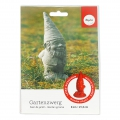 Latex mold for creative cement 21.5 cm garden gnome