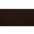 Grosgrain elastic belt ribbon Frou-Frou 36 mm Brown x 1m