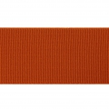Grosgrain elastic belt ribbon Frou-Frou 36 mm Terracotta x 1m