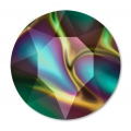 Swarovski 1088 Round Stone 8 mm Crystal Rainbow Dark x1