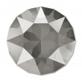 Swarovski 1088 Round Stone 8 mm Crystal Dark Grey x1