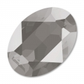 Swarovski 4120 Oval Fancy Stone 14x10mm Crystal Dark Grey x1