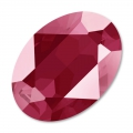 Swarovski 4120 Oval Fancy Stone 14x10mm Crystal Dark Red x1