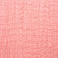 Fabric double cotton gauze Coral x10cm