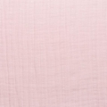 Fabric double cotton gauze Baby Pink x10cm