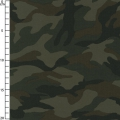 Ripstop Cotton Fabric  - Camouflage brown x10cm