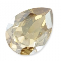 Swarovski 4320 Pear Fancy Stone 10x7mm Crystal Golden Shadow