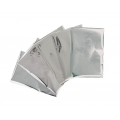 Set of 30 Heatwave metallized papers - 10,2x15,2 cm silver