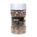 Big sprinkler pot of multicoloured spangles x76g