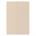 Decorative adhesive A4 wooden sheet Beige x1