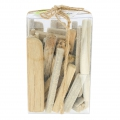Set of natural drifted wood boards from 8 to 12 cm x 250g