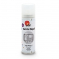 White varnish frosted effect spray x125ml
