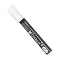 Marvy Chalk pencil 6mm for slate and windows' glass White x1