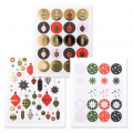 Stickers Paper Poetry Puristic Christmas Christmas Decoration 20 Patterns x194