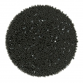 Crystal Fabric Swarovski 57335 Hotfix 35 mm Jet Hematite