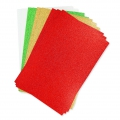 Set of foam sheets to cut 20x30cm Glittering Christmas