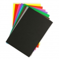 Set of foam sheets to cut 20x30cm Multicoloured x10