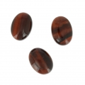 Oval cabochon 18x13mm Red Tiger Eye