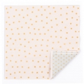 Napkins confetti pattern 33 cm Grey/Light Rose/Golden x20