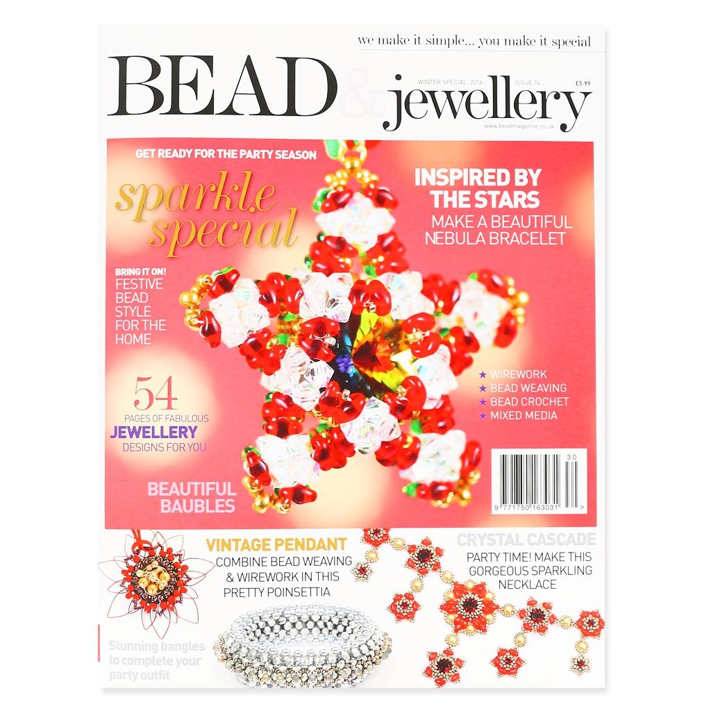 Bead jewellery magazine winter special 2016 in for English home magazine customer service